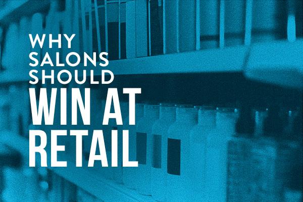 Advertisement describing why retail wins
